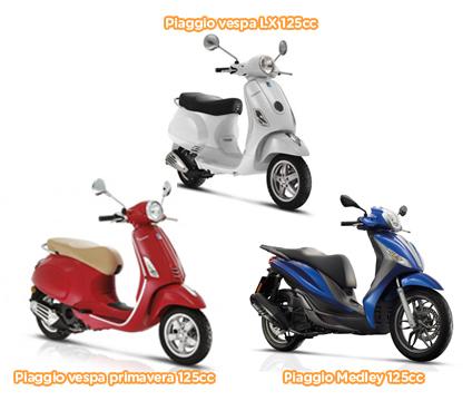 alquiler de motos y scooters en ibiza: san antonio, ibiza puerto, talamanca, cap martinet, cala vadella, cala tarida