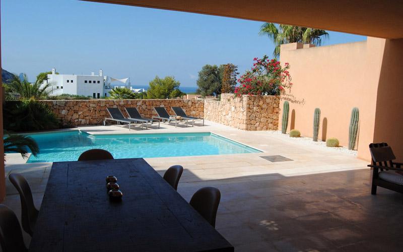 Alquiler de Villa en Caló den Real (Ibiza) Ref. 752 - 0