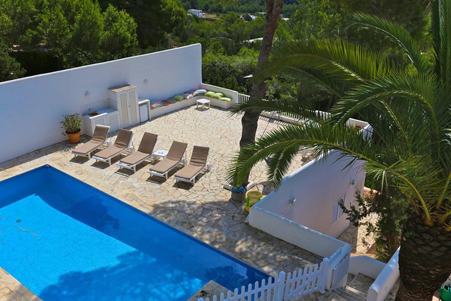 Alquiler de Villa en Es Cubells (IBIZA) Ref. 915 - 19