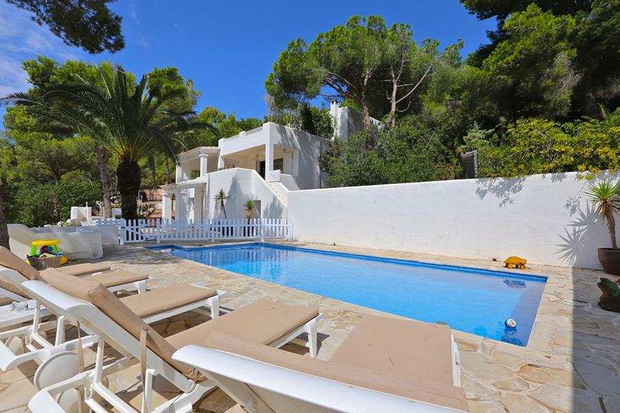 Alquiler de Villa en Es Cubells (IBIZA) Ref. 915 - 2