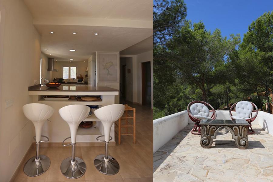 Alquiler de Villa en Es Cubells (IBIZA) Ref. 915 - 20