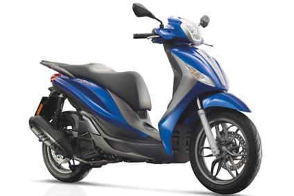 Scooter piaggio medley 125cc 2017 blue