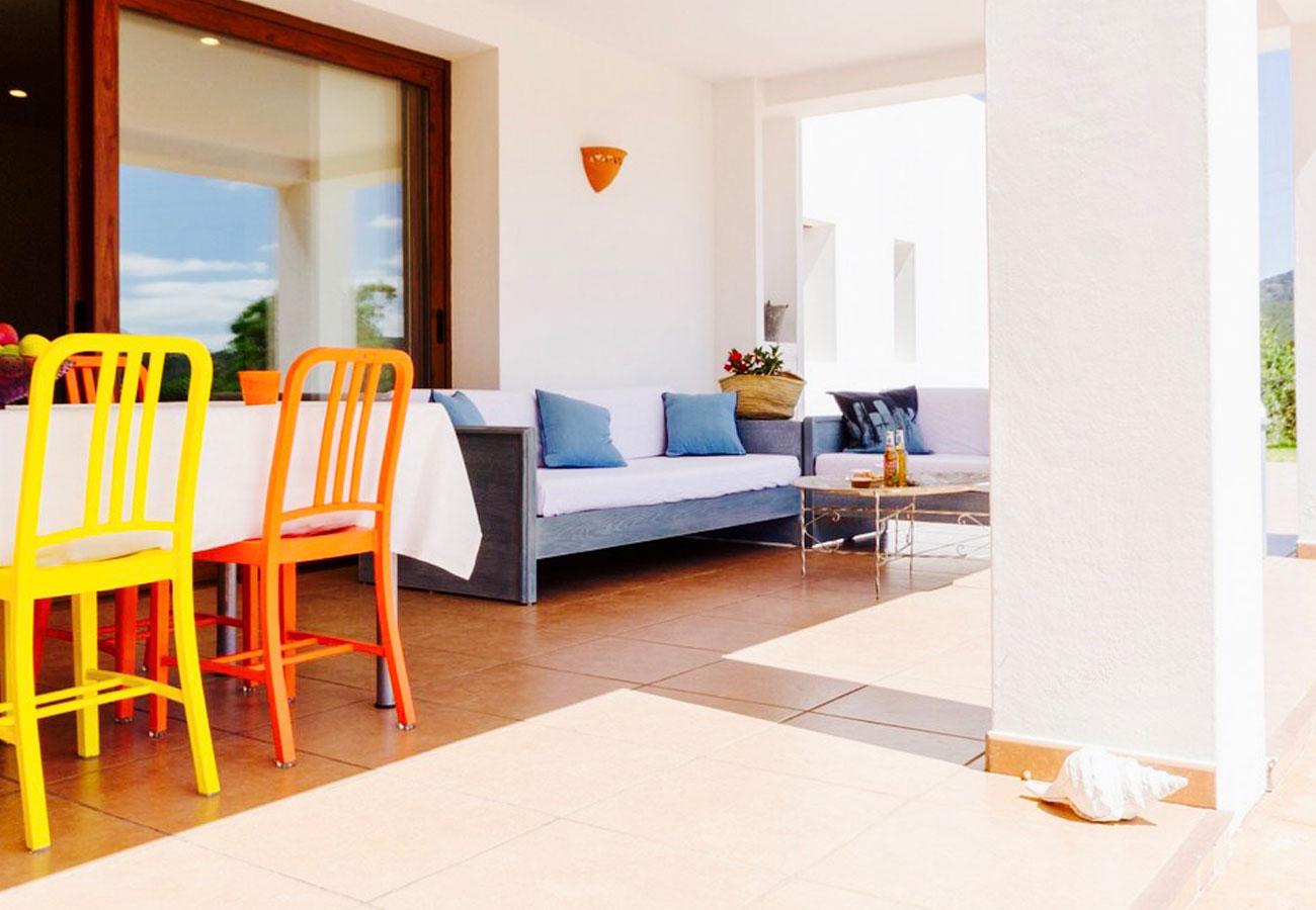 Alquiler de casa en Santa Inés (Ibiza)