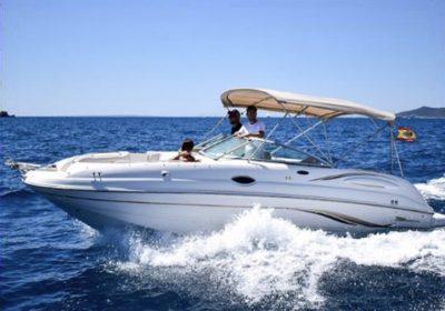 Embarcacion alquiler ibiza Chaparral